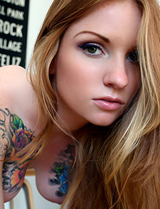 Kemper via SuicideGirls