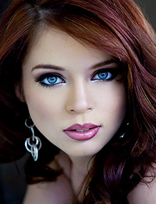 Stunning blue eyes